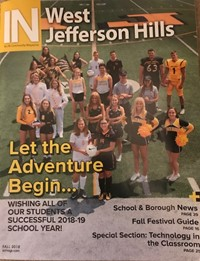 Cover Photo of In West Jefferson Hills Magazine