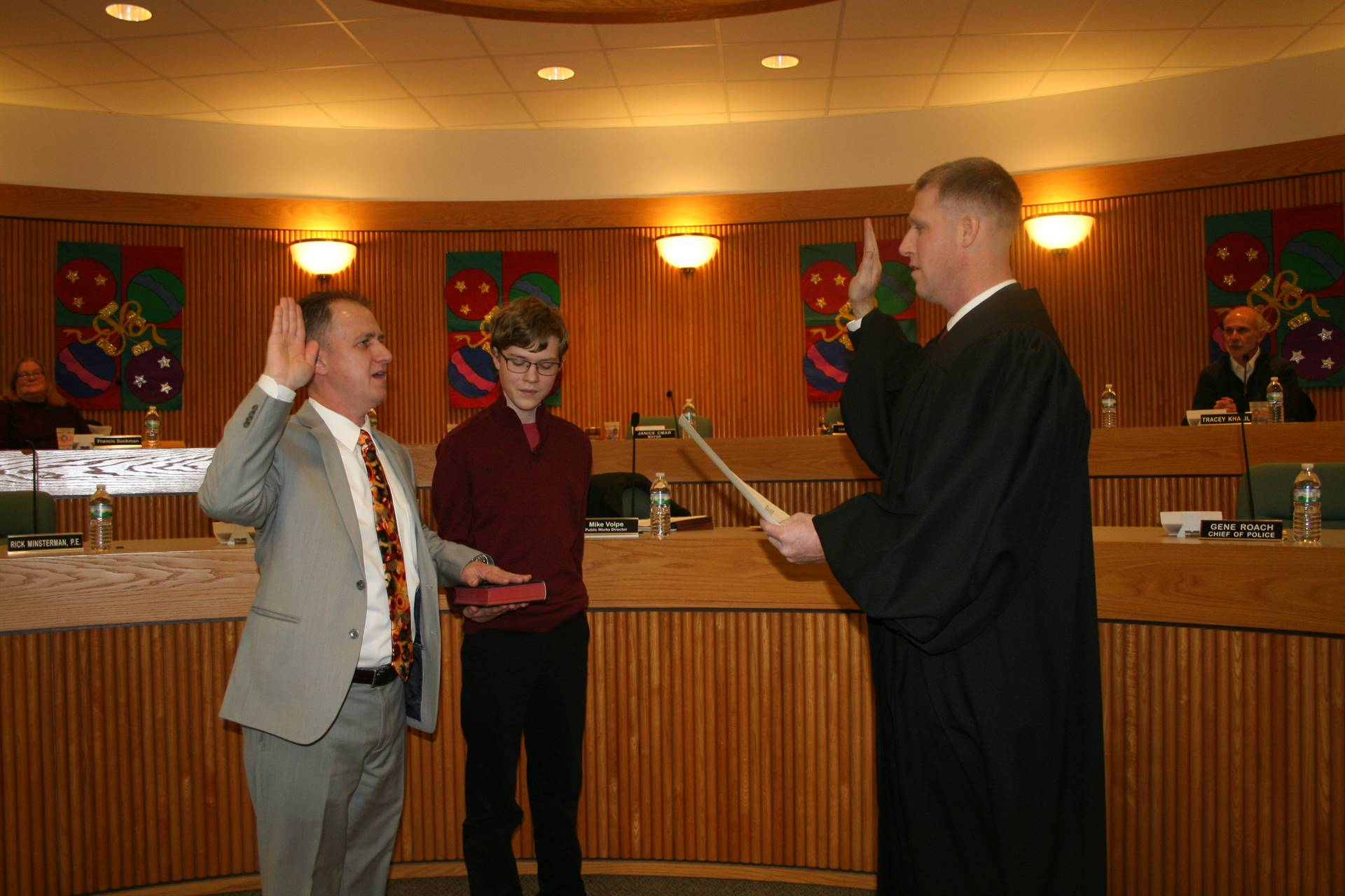 Christopher W. King Swearing In