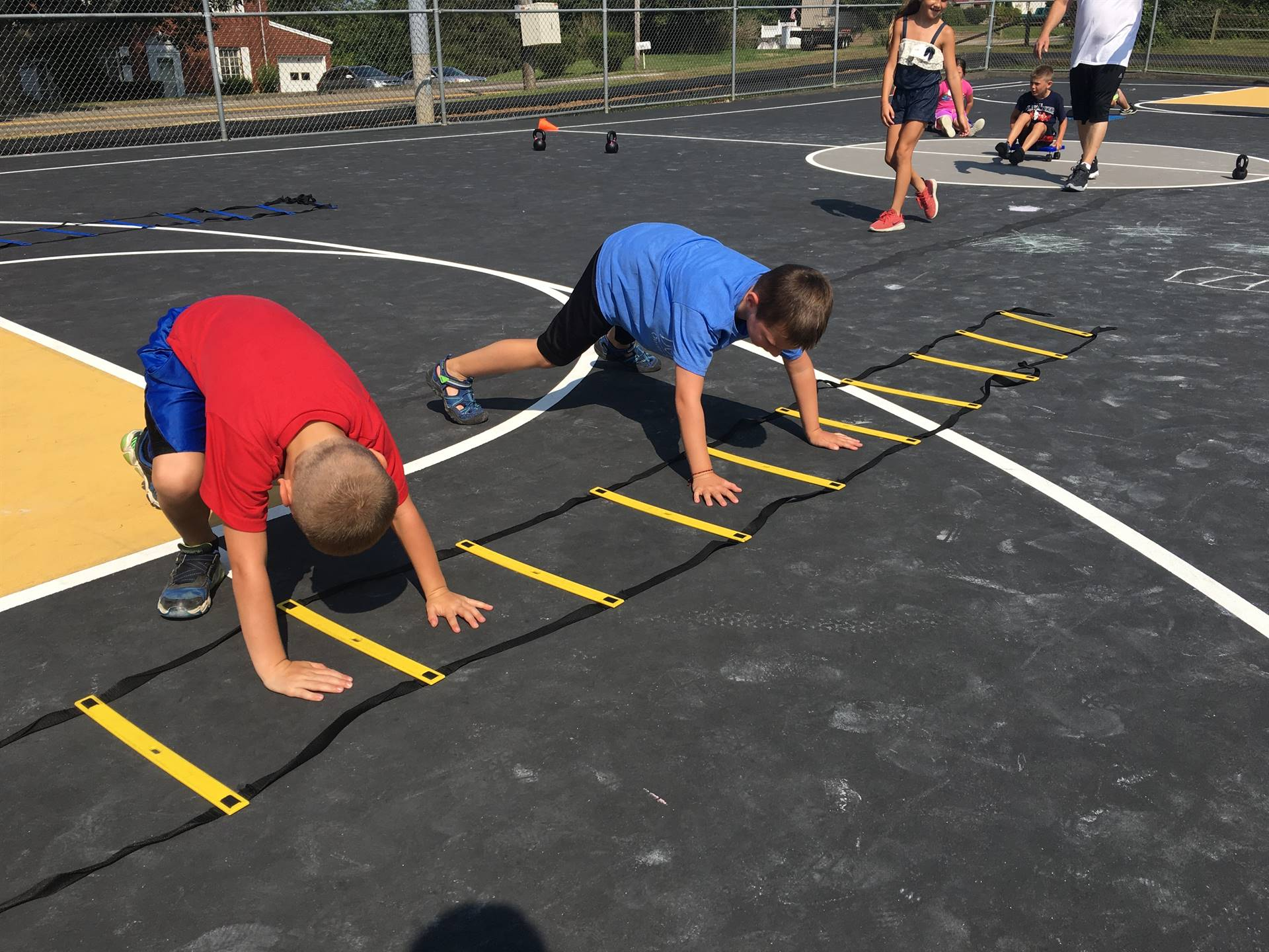 Summer Recreation Activities July, Gill Hall Park, 5-8 year olds