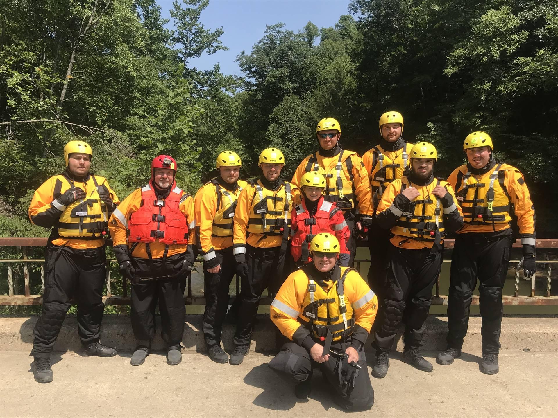 Jefferson Hills Swift Water Rescue Team