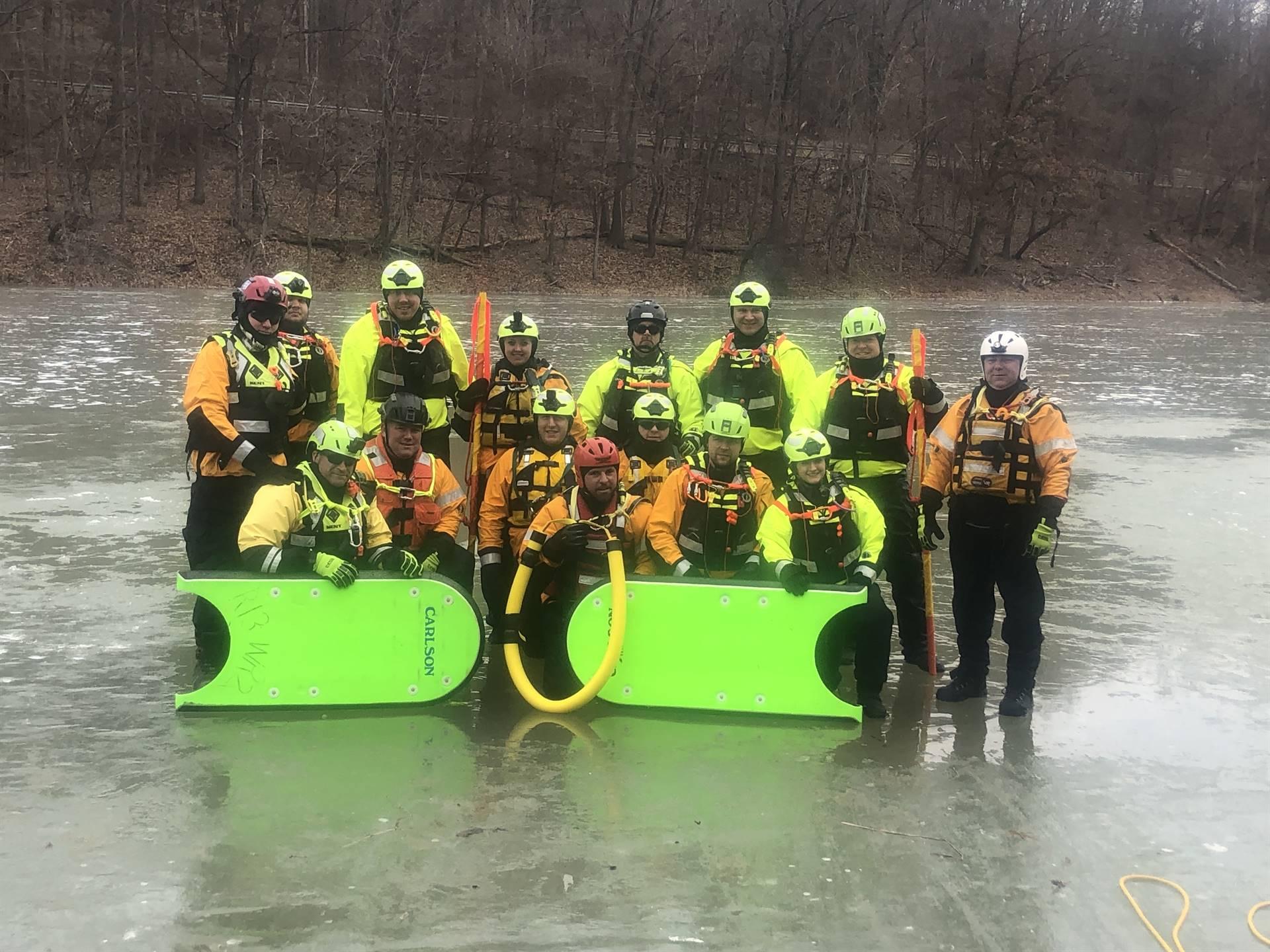 Photo of Jefferson Hills Swift Water Rescue Team