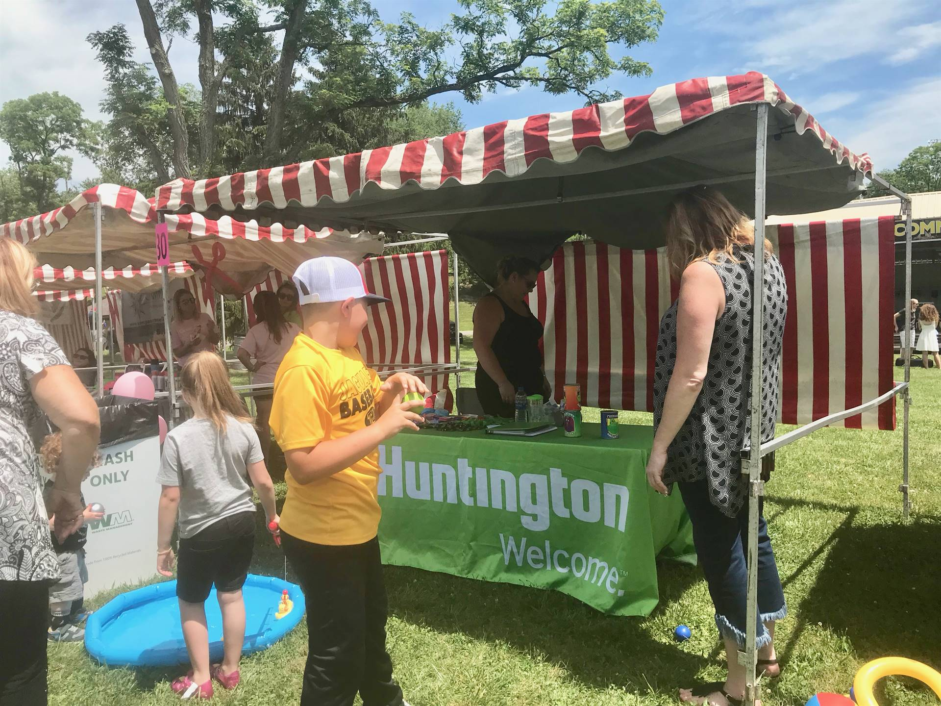 Community Day Booths